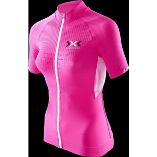 X-BIONIC Biking Shirt The Trick P075 Pink/White