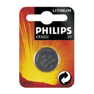 Knopfbatterie CR2032 3V Philips