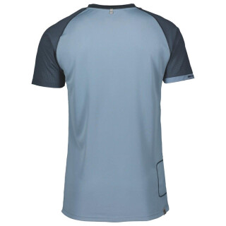 SCOTT TRAIL MTN POLAR 10 KURZARM-SHIRT (nightfall blue/washed blue)