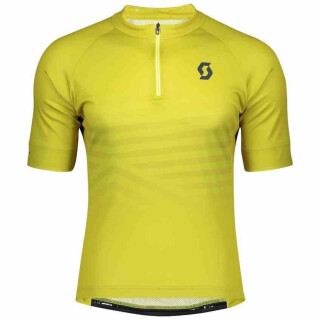 SCOTT Endurance 20 Kurzarmtrikot für Herren lemongrass yellow/nightfall blue