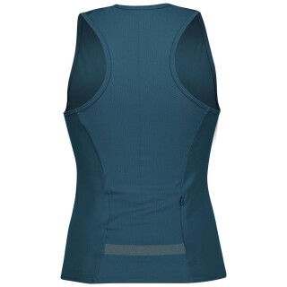 SCOTT Endurance Knit Tanktop für Damen lunar blue/amber yellow