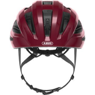 ABUS Macator Fahrradhelm bordeaux red