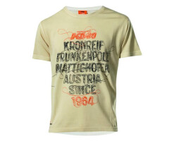 KTM Factory Character T-Shirt Destroyed beige
