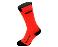 KTM Factory Team Compression Socken Recovery orange/schwarz