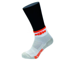 KTM Carbon Socken weiss/orange