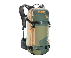 Evoc Winterrucksack Freeride Day Women, S, olive, 16.lt